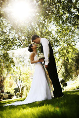 (About the Day Photography) Tags: lighting wedding light sunset sun love smile canon happy groom bride couple smiles weddingday inlove