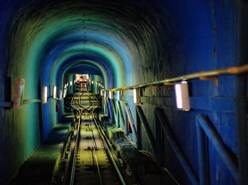inside the téléphérique