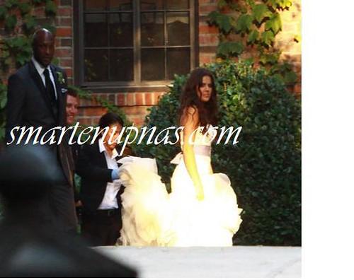 Lamar Odom Aka The Nba Scarl Amp Khloe Kardashian Wedding Pictures