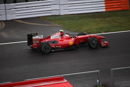 Formula 1 Suzuka 2009 Ferrari
