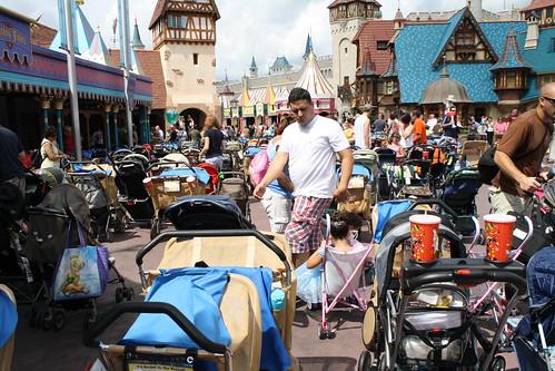 Magic Kingdom Strollers Everywhere!