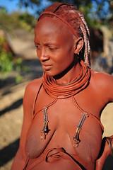 himba mother (luca.gargano) Tags: africa african culture tribal safari afrika tribe ethnic namibia tribo himba angola afrique ethnology tribu namibie tribus ethnie ovahimba himbas muhimbas muhimba