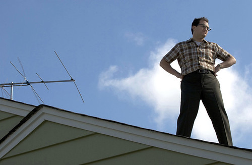 Michael Stuhlbarg tries to be 'A Serious Man'.