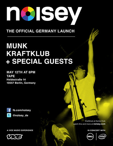 Noisey.com-Launch in Berlin