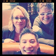 Project 365 132/365: Best pic ever! @BusyDadBlog amd his hot blondes with glasses! @MrLady and me! Epic meet-up in Scottsdale. #BoschEngineer