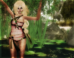 elfe jardinier qui se tremousse (Ys Ah) Tags: truth secondlife plastik manna severedgarden fashionsladdict