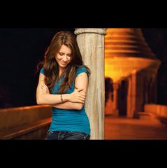 Day Hundred and Thirty-seven (ODPictures Art Studio LTD - Hungary) Tags: city portrait girl smile night canon eos 50mm iso800 hungary budapest 365 f18 115 500d halászbástya portré strobist orbandomonkoshu