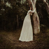 dependence (Ingrid Endel) Tags: tree nature forest wings support path fairy magical attachments dependence vintagedress texturesbylesbrumes obsessionwithwings