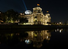 Deutscher Bundestag (Reichstag), Berlin - German Parliament (Reichstag) (Sir Francis Canker Photography ) Tags: city longexposure travel panorama house reflection building berlin art tourism skyline architecture night skyscraper germany deutschland europe shot dusk capital dramatic parliament landmark icon palace tourist best reichstag german nocturna getty alemania unreal visiting brandenburger ever nuit allemagne federal brandenburg notte impressive icono germania aleman allemand lucena parlamento deutscherbundestag tedesco demdeutschenvolke sirfranciscankerjones tz10 zs7 pacocabezalopez sirfranciscankerphotography