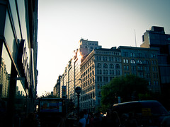 ~158~ golden hour (mikomiao) Tags: light newyork unionsquare goldenhour yip 2011 2011yip 2011inpictures