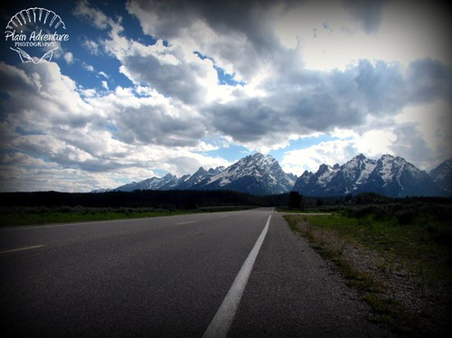 Road to the Tetons