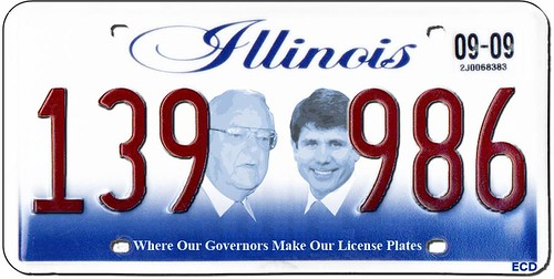 New Illinois Plate