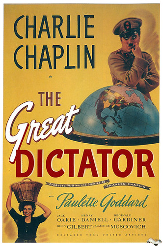The Great Dictator, Charlie Chaplin & Paulette Goddard 1940