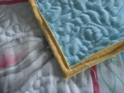 first quilt binding