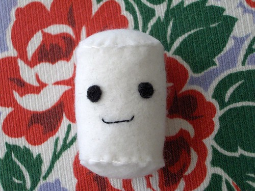 felt marshmallow
