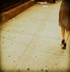 . (Catherine...) Tags: nyc woman highheels legs femme fivestarsgallery artlibre eternalfeminine tweakedpoladroid poladroidbidouillé
