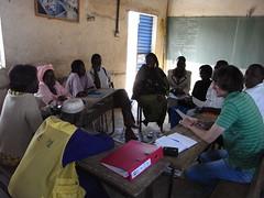 Ein Treffen mit den Verantwortlichen einer Schule