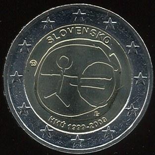 2 Euro Slovakia 2009 HMÚ
