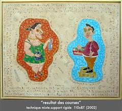 Résultat des courses (louisphilippevivien) Tags: painting paint rawart dessin peinture artbrut tableau toile peintre artsingulier figurationlibre louisphilippevivien