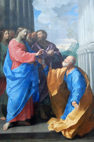 Louvre - Christ Giving the Keys to Peter - Guido Reni