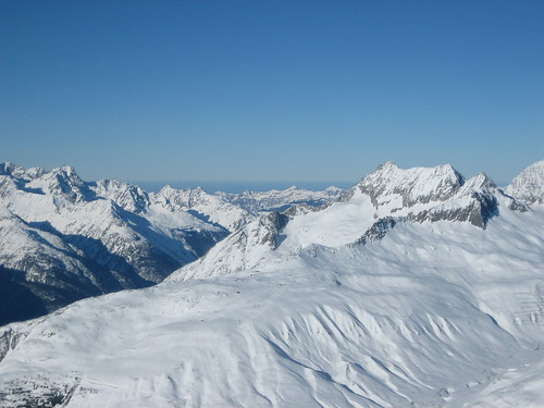 From the top of Andermatt