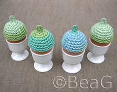 Egg Hats (Eiermutsjes) (Made by BeaG) Tags: original easter creativity design colorful artist belgium designer handmade unique oneofakind ooak kunst crochet egg hats belgi yarn creation cotton colourful crocheted unica eastereggs unicum easterdecoration beag variegatedyarn easterdecorations eggcozy easterfun easterdecor setof4 kunstenares uniquedesign ontwerpster eggcozies originaldesigner creativedesigner eastercrafting colorfuleastereggs egghats eiermutsjes crochetedeggheads colourfuleastereggs easterhomedecor colourfuleaster colorfuleaster designedandmadebybeag uniekontwerp ontworpenengemaaktdoorbeag