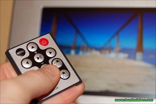 Envoi/reception de photo via la télécommande