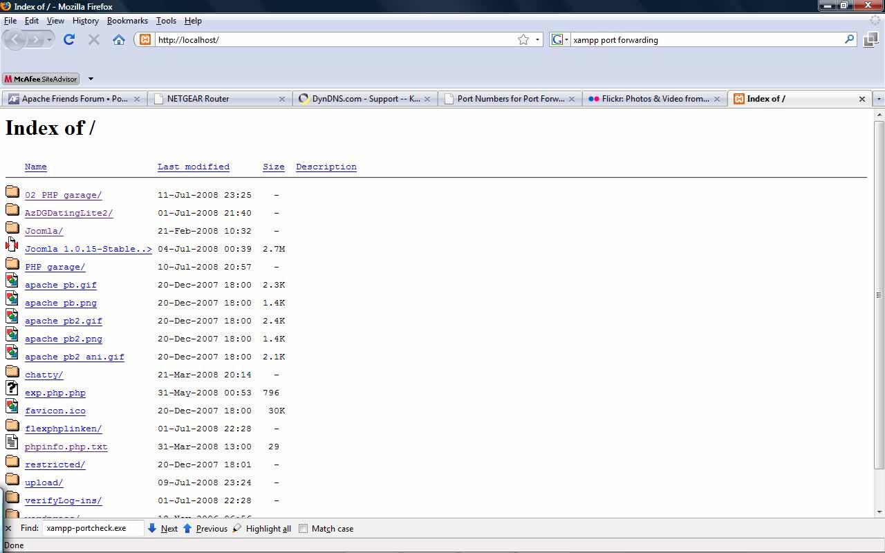 Apache Friends Support Forum • View topic - Xampp Server   Port
