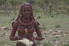 Himba Girl - by alpenrunner