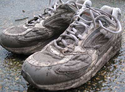 old Brooks running shoes