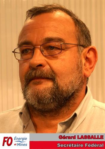 Gérard LASSALLE - Secrétaire Fédéral FO Énergie et Mines