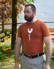out in the yard, doing yardy things (postbear) Tags: me yard spring human sap barelyhuman reluctantlyhuman