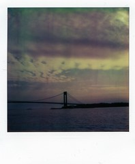 verrazano-narrows (instant satisfaction) Tags: nyc newyorkcity newyork brooklyn polaroid sx70 suspensionbridge bayridge verrazano verrazanonarrows atz sx70original giovannidaverrazzano artistictz polapremium