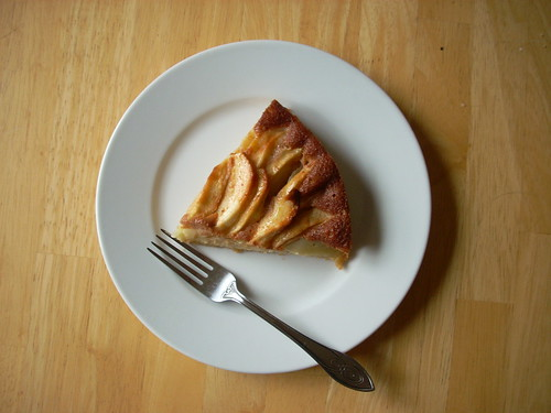 breafast, apple cake