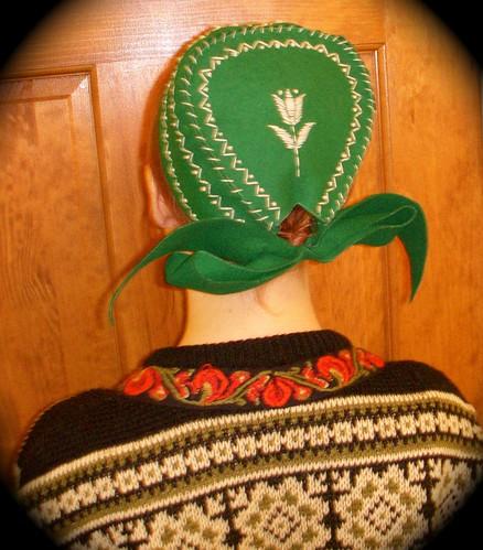Swedish folk bonnet??
