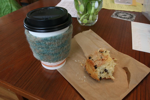 Felted Coffee Cup Sleeve