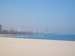 100_1825 (El_Sol) Tags: chicago beach skyline sand lakemichigan lakeshoredr