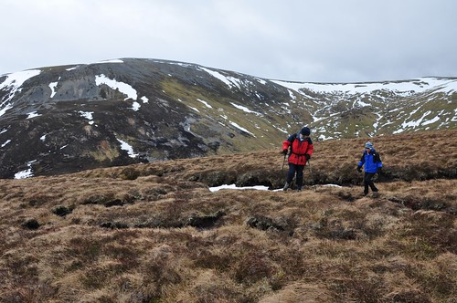 Negotiating the peat hags