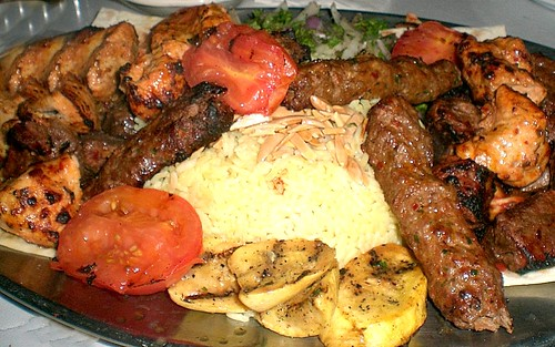 Kafta, Beef and Chicken Kebobs