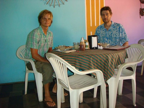 The last breakfast together in Nicaragua...