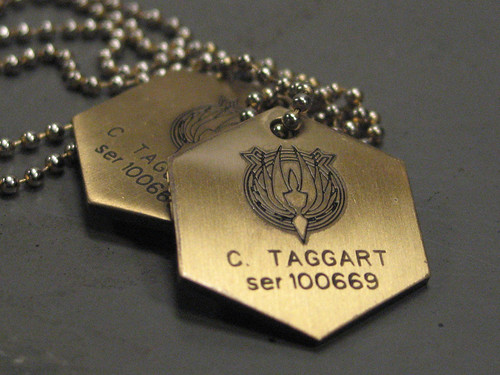 Dog Tags, Colonial Fleet