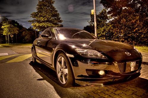 Mazda RX8 in HDR