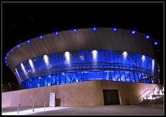 The Echo Arena (Paul Sivyer) Tags: night liverpool paul scene birkenhead threegraces albertdock capitalofculture liverpool08 liverpoolone liverpool1 wildwales echoarena sivyer