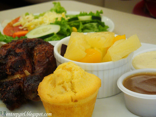Kenny Rogers classic healthy plate