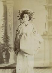 Tayuu portrait (noel43) Tags: japan japanese district prostitute prostitution redlight pleasure meiji courtesan yoshiwara shimabara oiran tayu tayuu kamuro