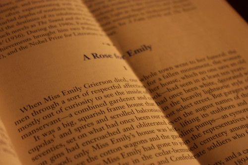 a rose for emily symbolism essays In the short story, a rose for emily by william faulkner, symbolism is used very  frequently throughout the story there are several different symbolic subjects in.