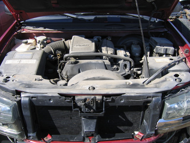 02 TrailBlazer engine