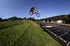 Brian Gap Single (MikeMcGowan) Tags: bike canon bmx ride brian fisheye peleng8mmf35 50d histand