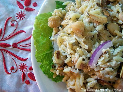 Chickpea & Orzo Salad