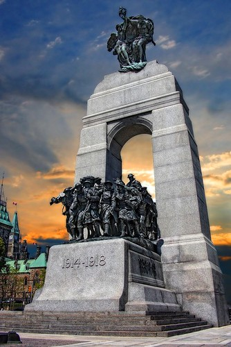 National War Memorial Ottawa by ppolgar